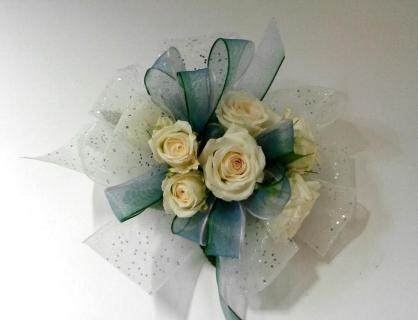 Sheer Blue Ribbon