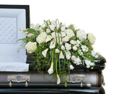 Elegant Love Casket Spray