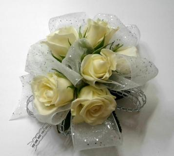 Sparkle Ribbon Rose