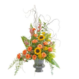 Heaven\'s Sunset Large Urn