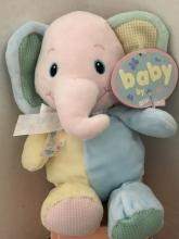 Baby Elephant Rattle Plush
