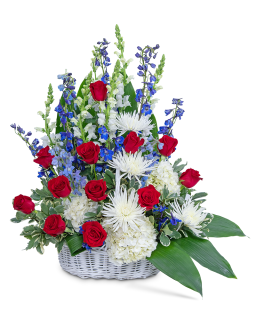 Freedom Tribute Basket