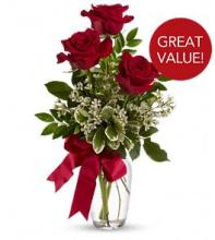 Thinking of You Bouquet with Red Roses