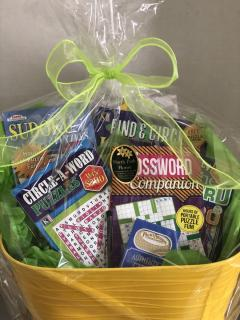 Puzzle Gift Basket